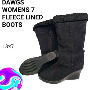 Dawgs black boots🥾